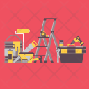 Tools Ladder Tool Icon
