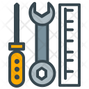 Tools Repairing Wrench Icon