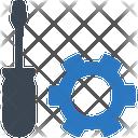 Equipment Tool Construction Icon
