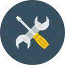 Tools Interface Wrench Icon