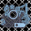 Tools Creativity Development Icon