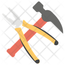 Hammer Claw Hammer Work Tools Icon
