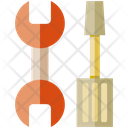 Tool Wrench Screwdriver Icon