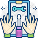 Tools And Safety Tech Support Technical Support Icon