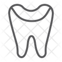 Tooth Enamel Dental Icon