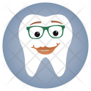 Lady Glasses Dentist Icon