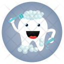 Cleaning Dentist Tooth Icon