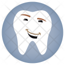 Smile Dentist Tooth Icon