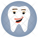Happiness Dentist Tooth Icon