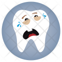 Cry Dentist Tooth Icon