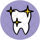 Tooth Human Sparkling Icon