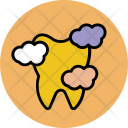 Tooth Dental Dirty Icon