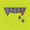 Tooth Teeth Vampire Icon