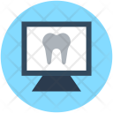 Tooth Anatomy Monitor Icon