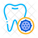 Bacteria Germ Tooth Icon