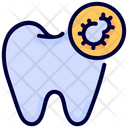 Bacteria Dental Tooth Icon