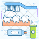 Toothpaste Dental Care Oral Care Icon