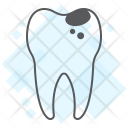 Tooth Healthy Bad Icon