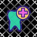 Stomatology Tooth Dental Icon