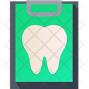 Tooth Clipboard Icon