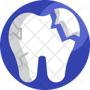 Tooth Crack Infection Dentistry Icon