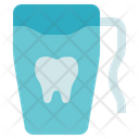 Hygiene Tooth Floss Dental Icon