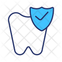 Tooth Protection Dental Tooth Care Icon