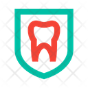 Tooth Shield Protection Icon