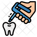 Tooth Repair Gun Icon