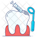 Oral Treatment Tooth Treatment Tooth Injection Icon