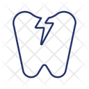 Toothache Broken Tooth Teeth Icon