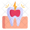 Toothache Canal Root Dental Pain Icon