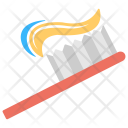 Toothbrush Toothpaste Oral Icon
