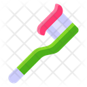 Toothbrush Dental Care Dental Cleanliness Icon