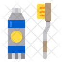 Toothbrush Hotel Service Icon