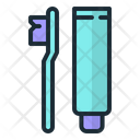 Toothbrush Toothpaste Tooth Icon