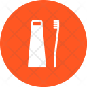 Toothbrush Toothpaste Icon