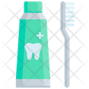 Toothpaste Health Dentist Icon