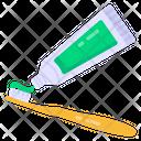 Dentifrice Toothpaste Dental Cream Icon