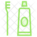 Toothpaste Brush Tube Icon
