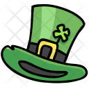 Top Hat Clover Icon