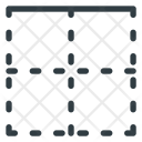 Top Border Line Icon