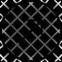 Top Right Diagonal Icon