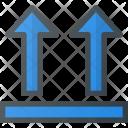 Top Box Shipping Icon