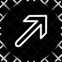 Top Right Arrow Icon