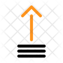 Arrow Upload Transfer Icon
