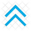 Arrows Top Double Arrow Icon