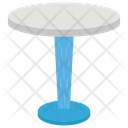 Top Bar Table Round Table Fancy Table Icon