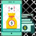 Top Bonus Money Cash Icon