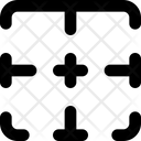 Top Border Interface Essentials Table Bold F Icon